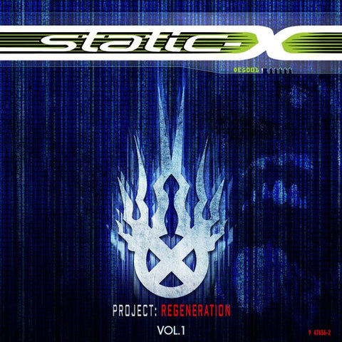 Static-X - Project Regeneration 1 - 2020 - Vinyl LP Album
