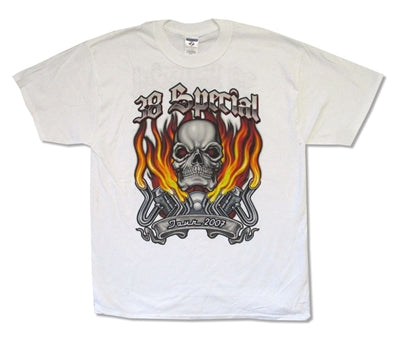 38 Special - Skull Flames Tour - T-Shirt