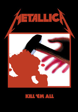 Metallica - Kill 'Em All Flag