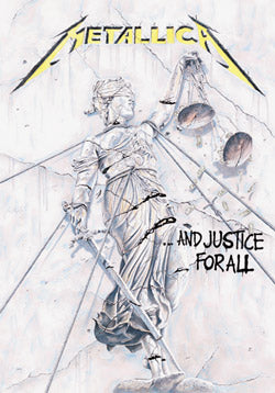 Metallica - Justice For All Flag