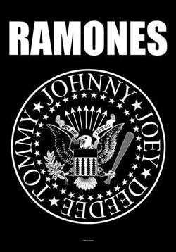 Ramones - Eagle Logo Flag