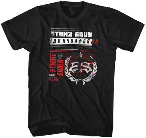 Stone Sour - Backwards Letter Hydro T-Shirt