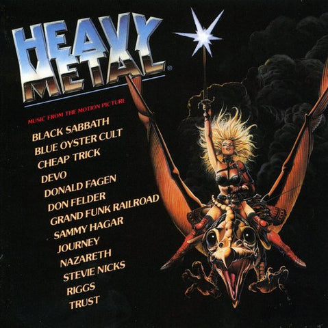 Heavy Metal - Various Artists (Soundtrack) - 1995/2017 - (CD Or Vinyl LP Album)