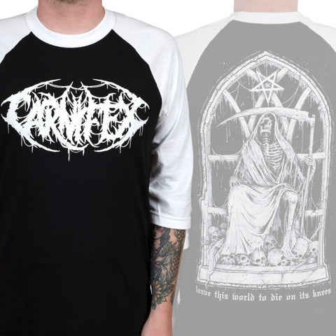 Carnifex - Rest In Pain Baseball Tee