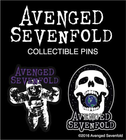 Avenged Sevenfold - Lapel Pin Badge Set