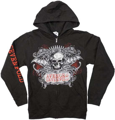 Avenged Sevenfold - Ornate Zip Hoodie