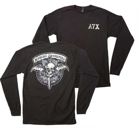 Avenged Sevenfold - Biker Bat Longsleeve Shirt