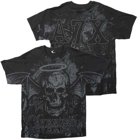 Avenged Sevenfold - Dear God Allover Print T-Shirt