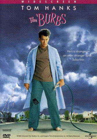 The 'Burbs - Tom Hanks, Corey Feldman, Carrie Fisher -1989/1999 - (Widescreen) - DVD