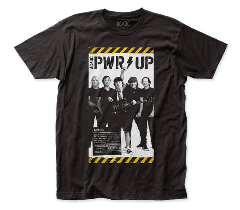 AC/DC - PWR Up Poster T-Shirt