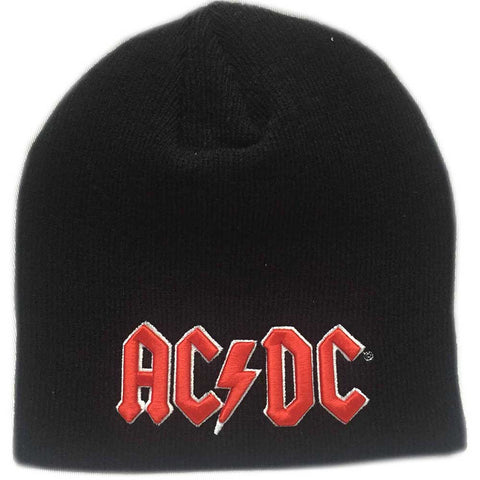 AC/DC - Red 3D Logo Beanie (UK Import)