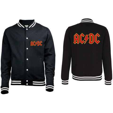 AC/DC - Classic Logo Varsity Jacket (UK Import)