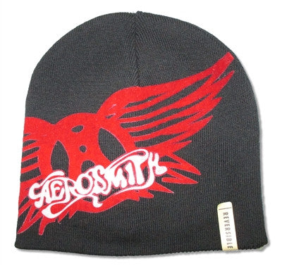 Aerosmith - Red Wings Reversible Beanie