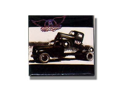 Aerosmith - Tow Truck Lapel Pin Badge