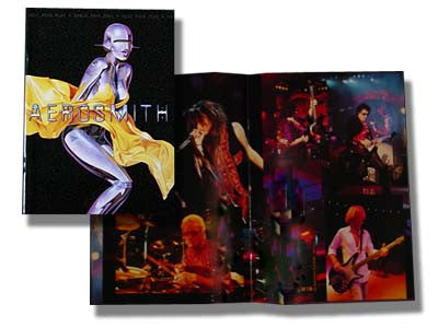Aerosmith - Tour Book