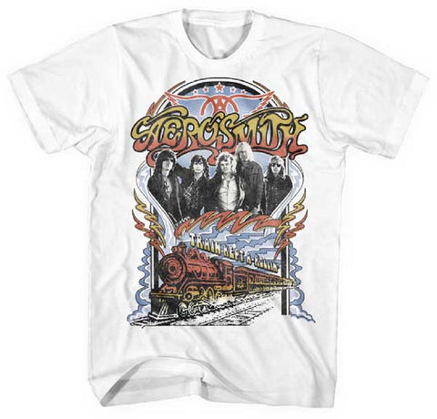 Aerosmith - Train Kept A Rollin' T-Shirt