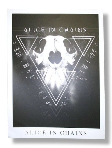 Alice In Chains - Matte Finish Lithograph Poster