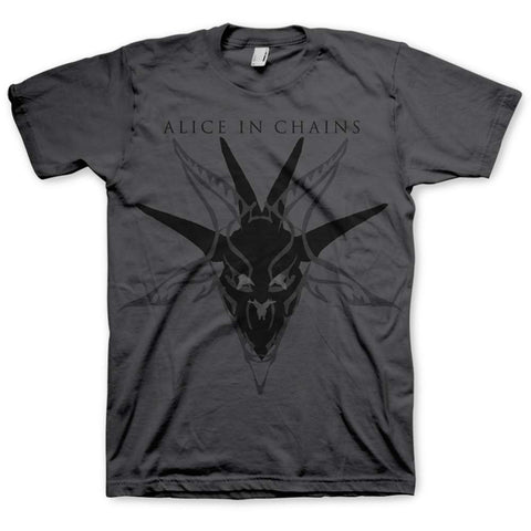 Alice In Chains - Black Skull T-Shirt (UK Import)