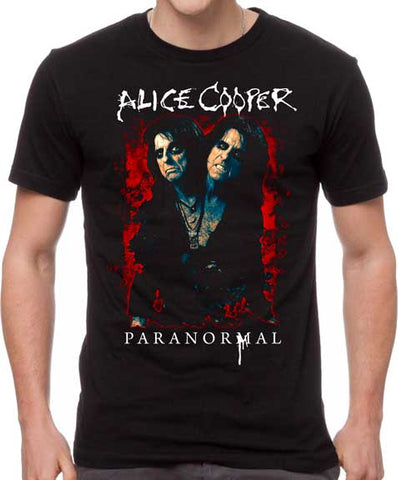 Alice Cooper - Paranormal Splatter T-Shirt
