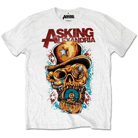 Asking Alexandria - Stop The Time T-Shirt (UK Import)
