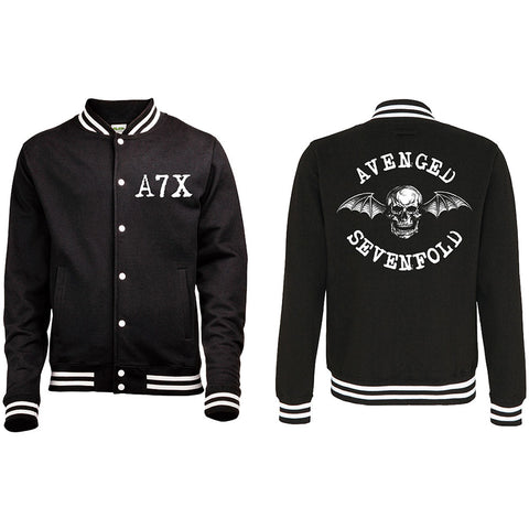 Avenged Sevenfold - Death Bat Varsity Jacket (UK Import)