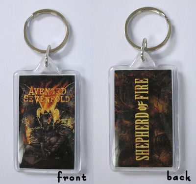 Avenged Sevenfold - Shepherd Of Fire Keychain