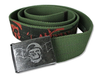 Avenged Sevenfold - Green Canvas Belt