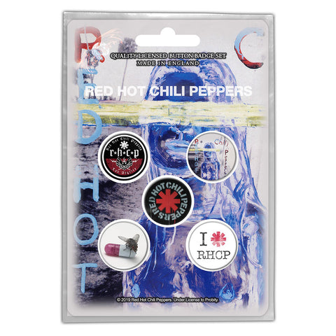 Red Hot Chili Peppers - By The Way - Button Badge Set - UK Import