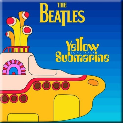 Beatles - Yellow Submarine Fridge Magnet (UK Import)