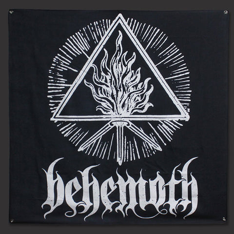Behemoth - White Sigil Flag