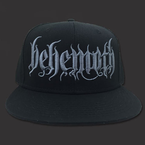 Behemoth - Black Logo Snap Back Hat