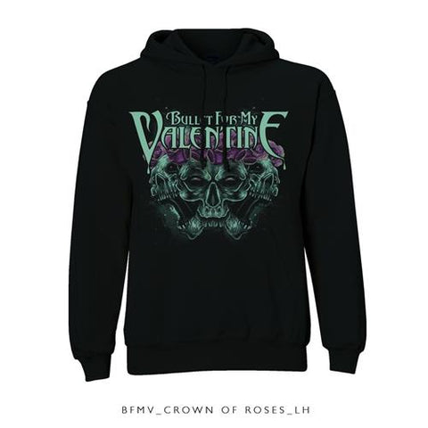 Bullet For My Valentine - Crown of Roses Pullover Hoodie (UK Import)