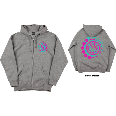 Blink-182 - Double Six Arrow Smiley Zip Hoodie (UK Import)
