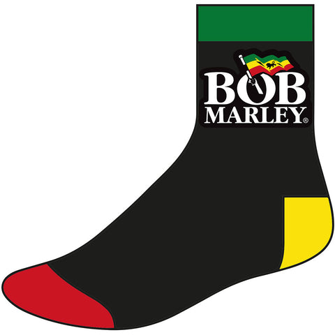 Bob Marley - Logo Ankle - Socks (UK Import)