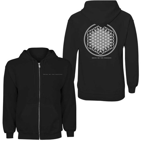 Bring Me The Horizon - Flower Of Life Zip Hoodie (UK Import)