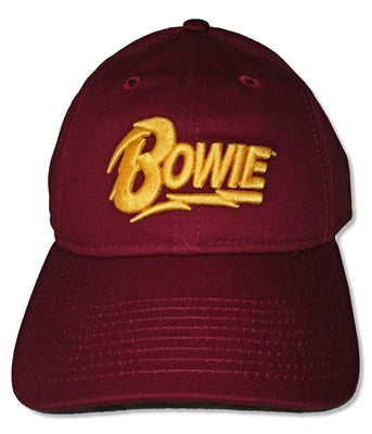 David Bowie - Yellow Logo Cap