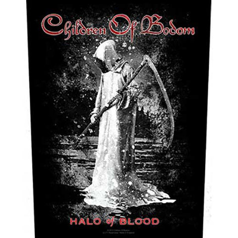 Children Of Bodom - Halo of Blood Back Patch (UK Import)