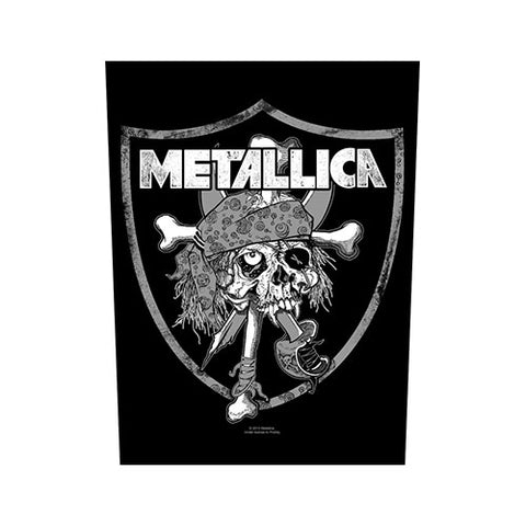 Metallica - Raiders Skull Back Patch (UK Import)