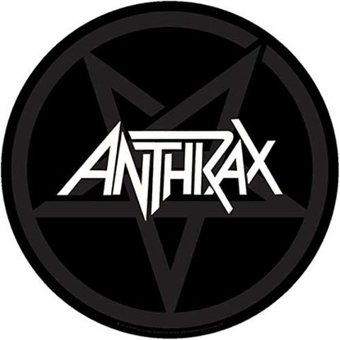 Anthrax - Pentathrax Back Patch (UK Import)