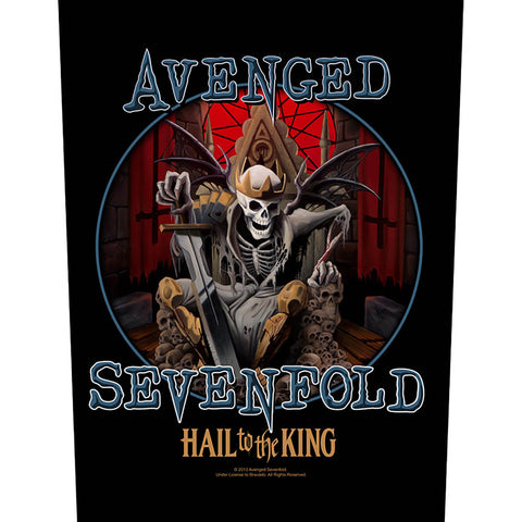 Avenged Sevenfold - Hail To The King Back Patch (UK Import)