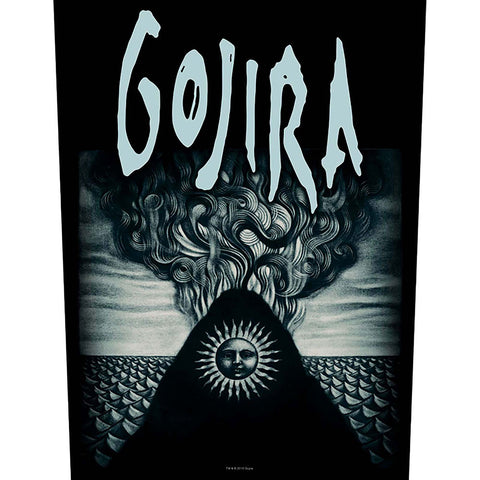 Gojira - Magma - Back Patch (UK Import)