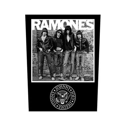 Ramones - Photo 1976 Back Patch (UK Import)