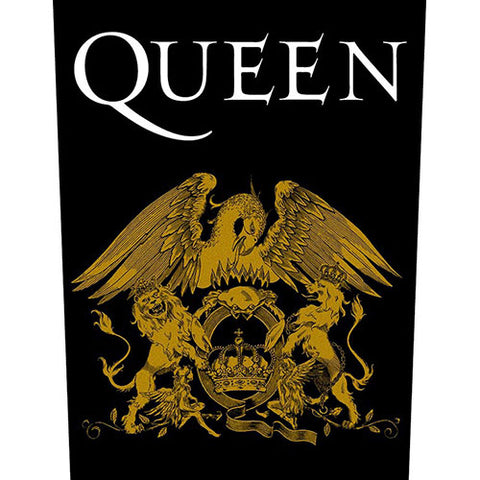 Queen - Crest Back Patch (UK Import)