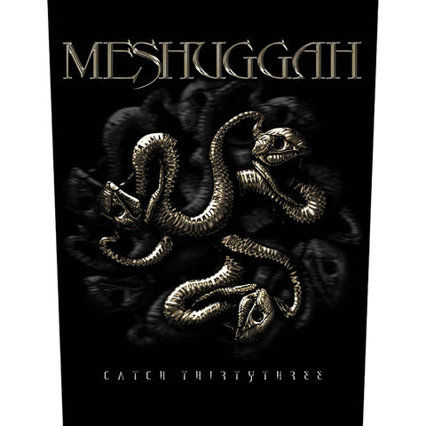 Meshuggah - Catch 33 Back Patch (UK Import)