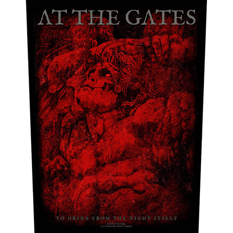 At The Gates - To Drink From the Night Itself Back Patch (UK Import)