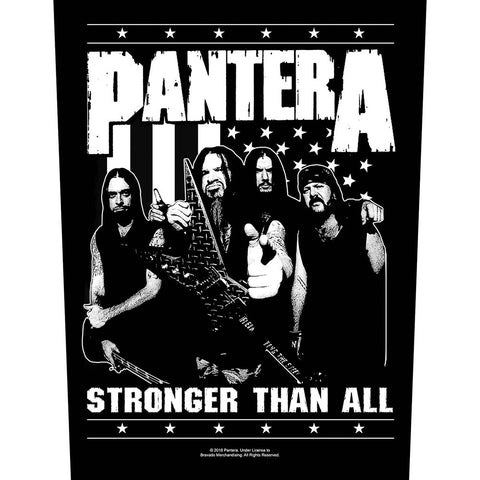 Pantera - Stronger Than All - Back Patch (UK Import)