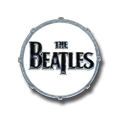 The Beatles - Large Drum Lapel Pin Badge (UK Import)