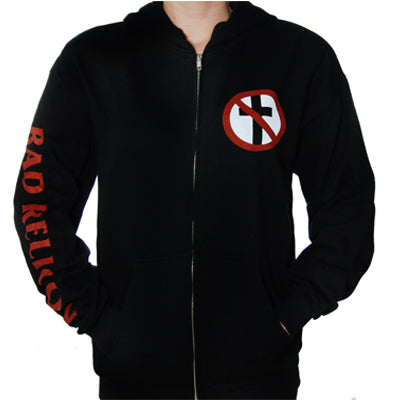Bad Religion - Crossbuster Zip Up Hoodie