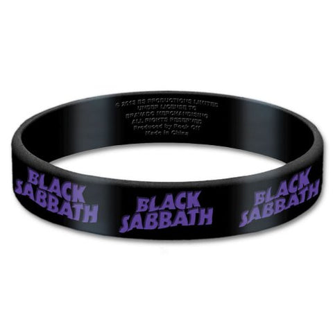 Black Sabbath - Rubber Bracelet Wristband (UK Import)