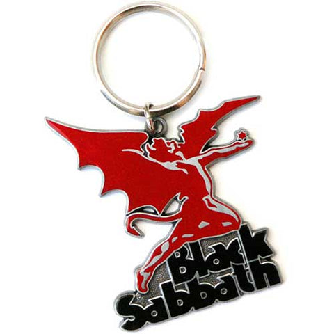 Black Sabbath - Metal Logo Keychain (UK Import)